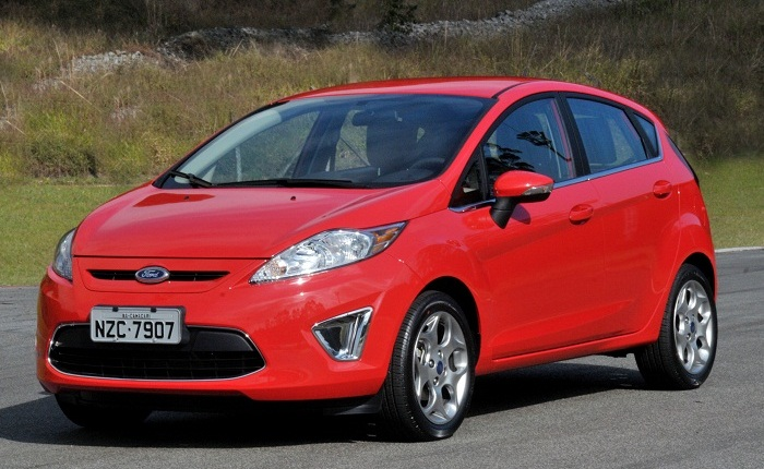 New Fiesta vermelho G